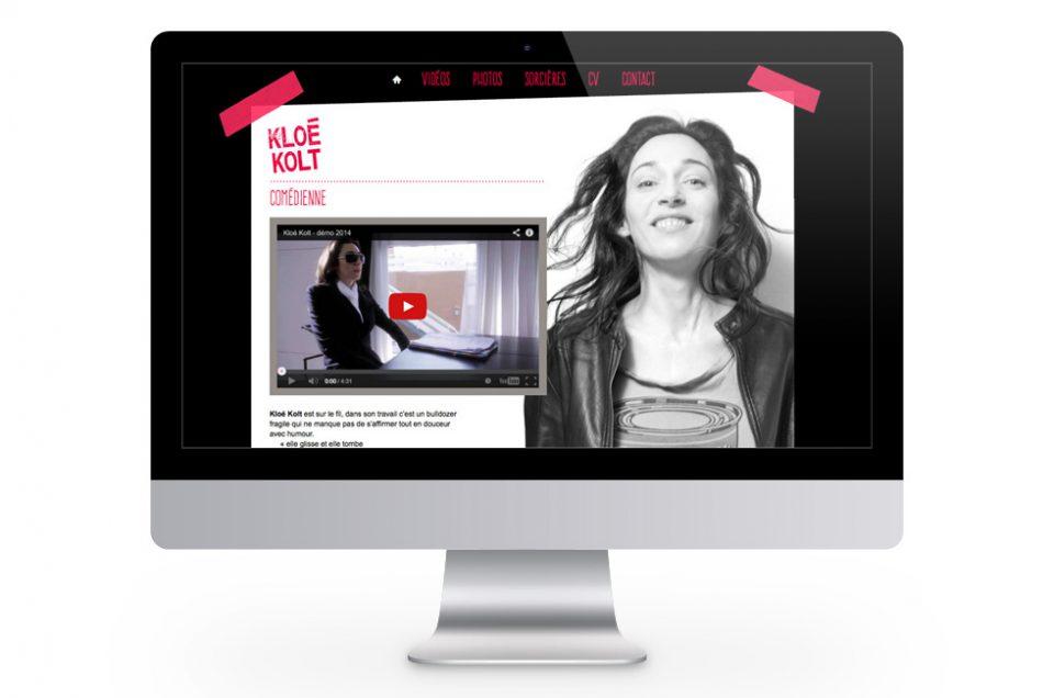 Kloé Kolt, site web