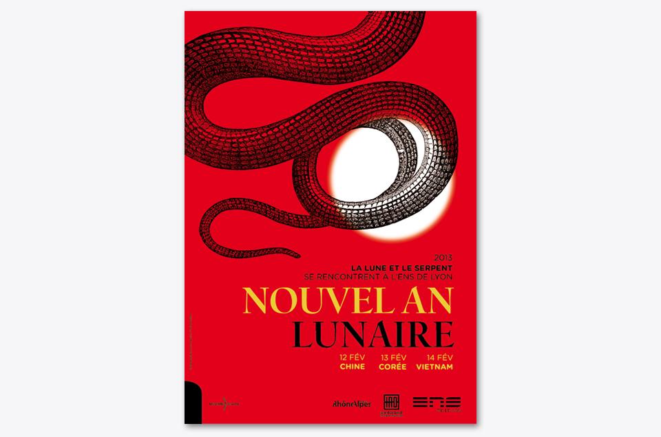 Affiche Nouvel An Lunaire 2013 - ENS Lyon