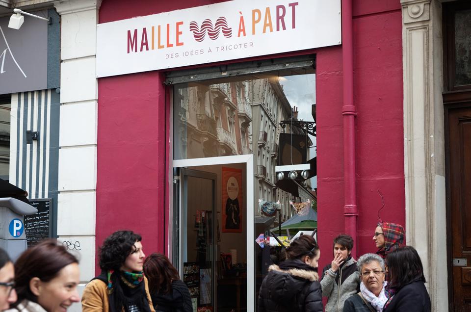 La boutique Maille à part