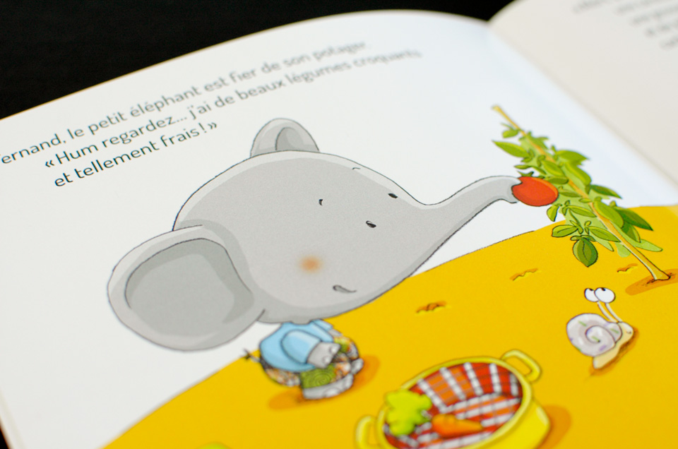 Fernand, l'éléphant du conte